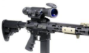 Ejemplo de colocación de visores nocturnos para rifles