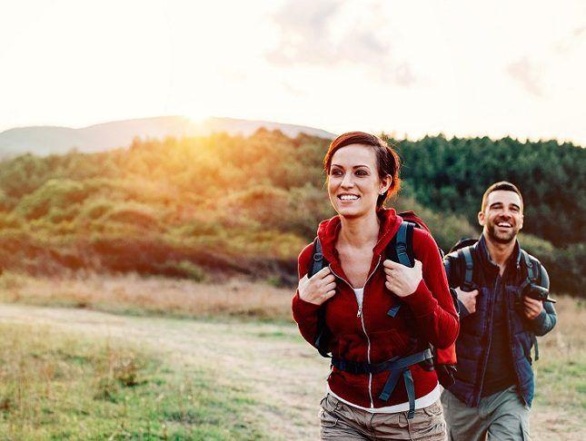 ¡El senderismo hace feliz! – Senderismo = Felicidad
